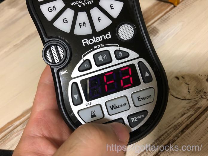 Roland VT 12 エラー IMG 8461