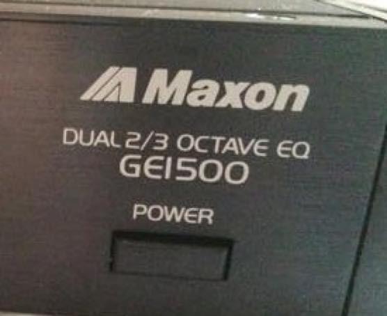 BOOWY時代の布袋寅泰使用機材MAXONのGE1500を分析