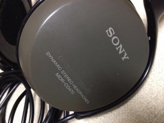20年前のソニーのヘッドホン SONY MDR-CD470