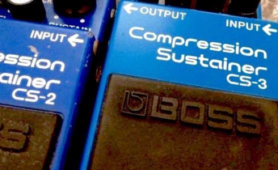 BOSS コンプレッサー CS-2とCS-1、CS−3との違い