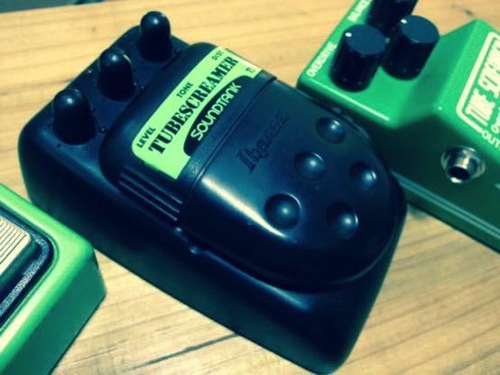 TS5(チューブスクリーマー)の音とオペアンプTA75558P