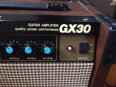 MAXON ギターアンプ GX30とチューブスクリーマー(TS-9 TS-5など)弾き比べレビュー