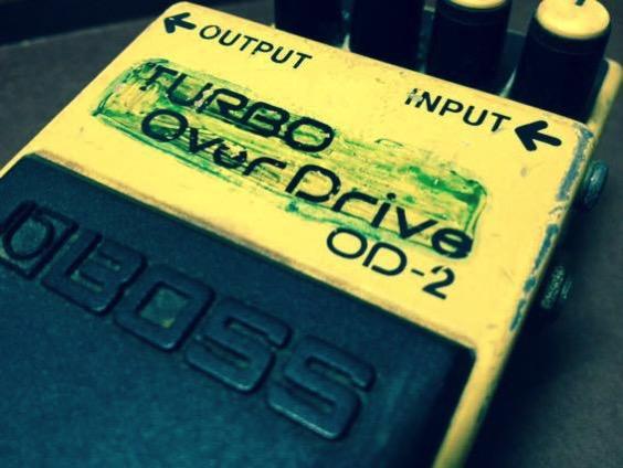 BOSS OD-2は80年代バンドブームの音?