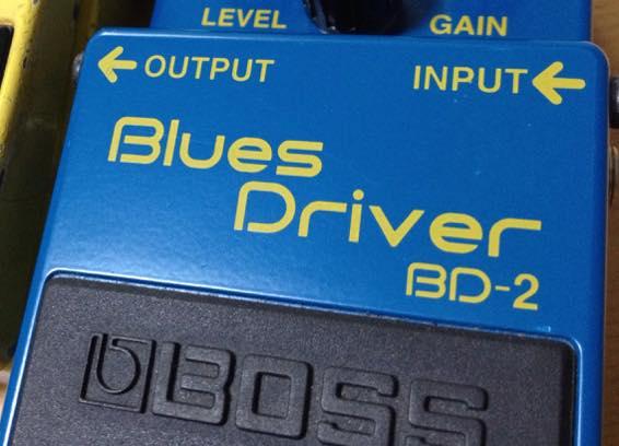 多くのギタリストが使用のBOSS BD-2 ブルースドライバーのレビュー