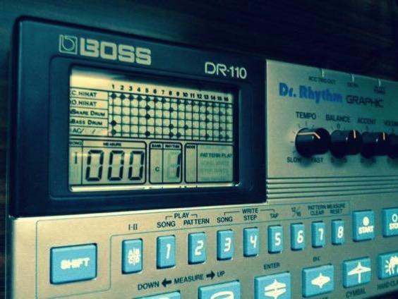 BOSS DR-110 Dr. Rhythm アナログリズムマシンの快感