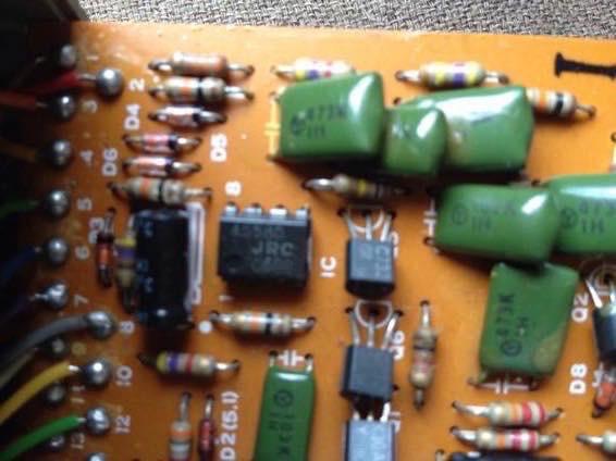 BOSS SD 1 オペアンプ IMG 4309