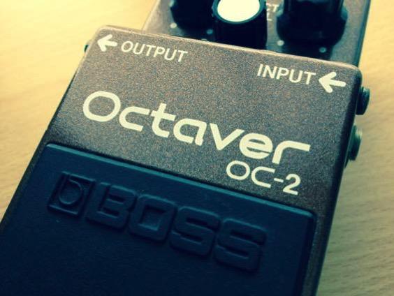 BOSS OC-2 オクターバーの単音リフの存在感