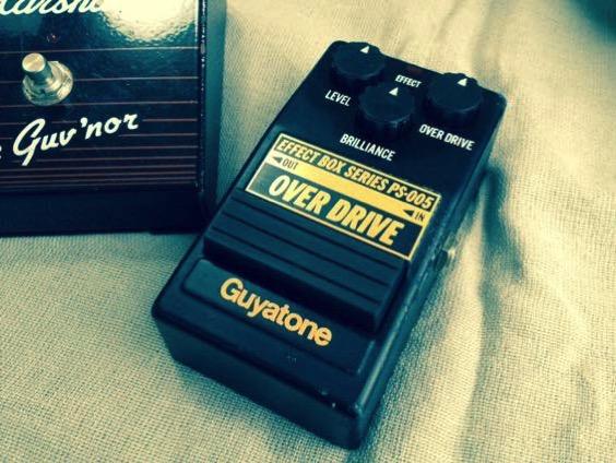 LOUDNESS高崎晃が80年代使用のオーバードライブGuyatone PS-005