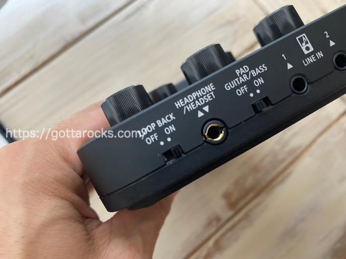 Roland go mixer pro x レビュー LOOPBACK IMG 5481
