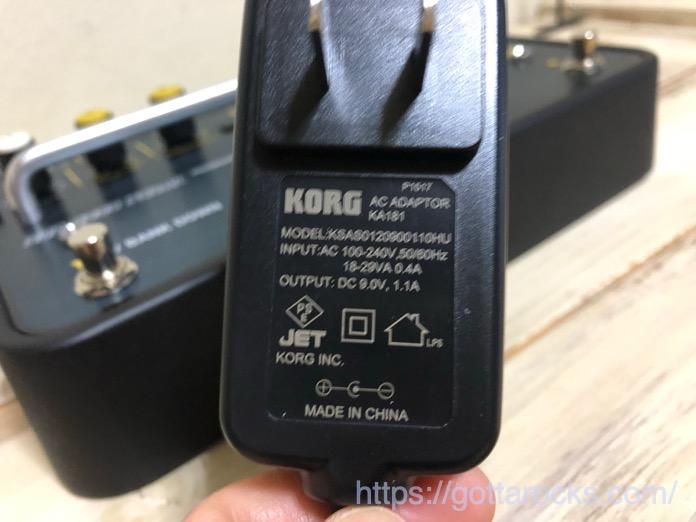 KORG SDD 3000 PEDAL レビュー IMG 4747