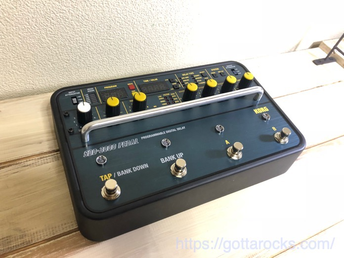 KORG SDD 3000 PEDAL レビュー IMG 4717