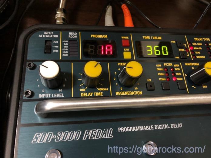 KORG SDD 3000 PEDAL レビュー IMG 4791
