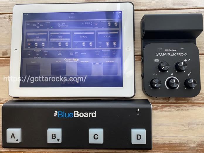 Roland go mixer pro x レビュー LOOPBACK IMG 5479