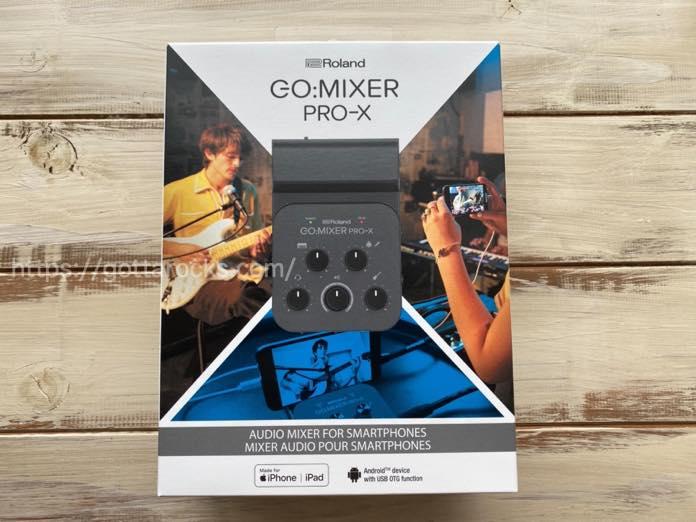 Roland go mixer pro x レビュー メリット デメリットIMG 5363